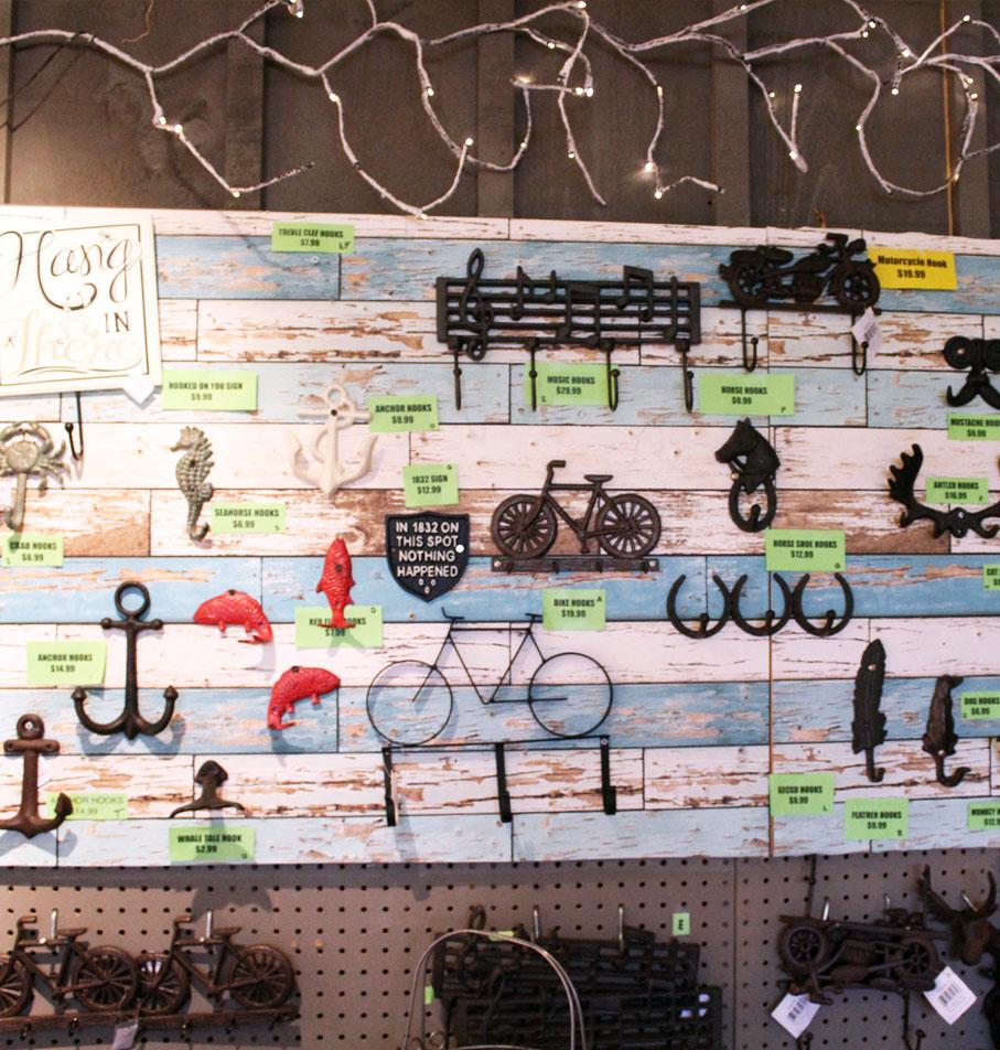 Bike hooks
