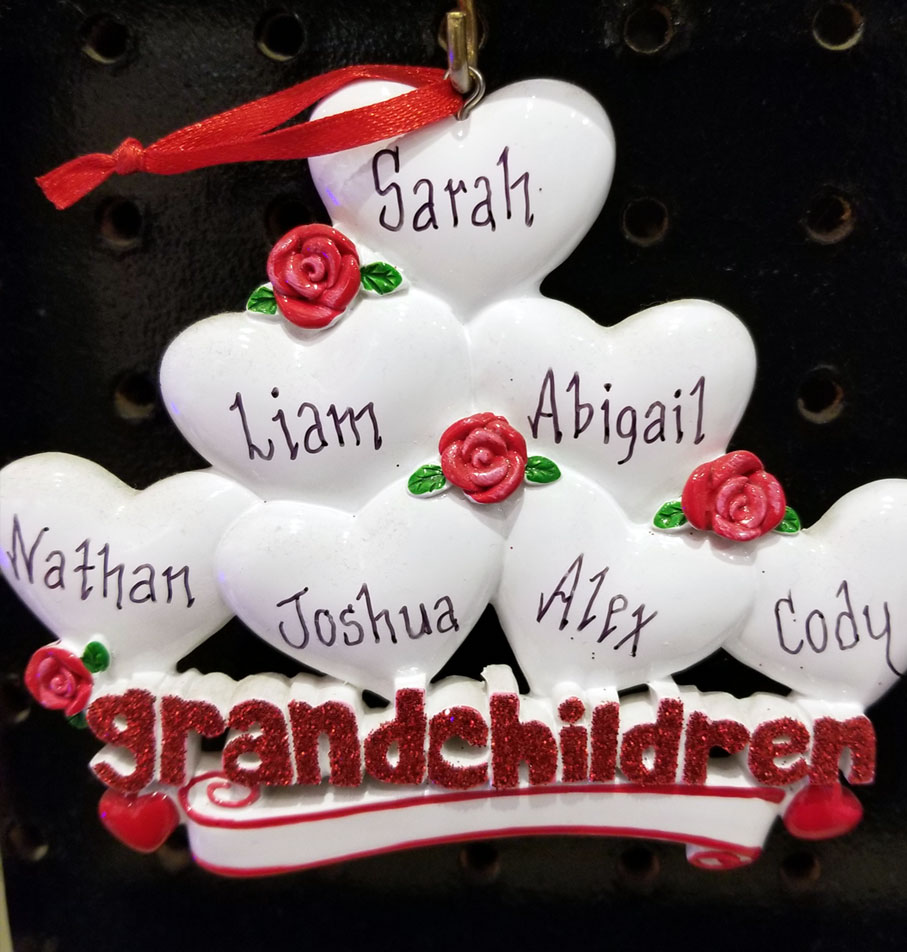 Grandparent Ornaments