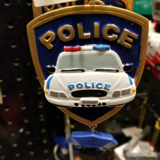 Police Ornaments