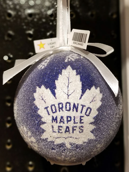Toronto Maple Leafs Ornament