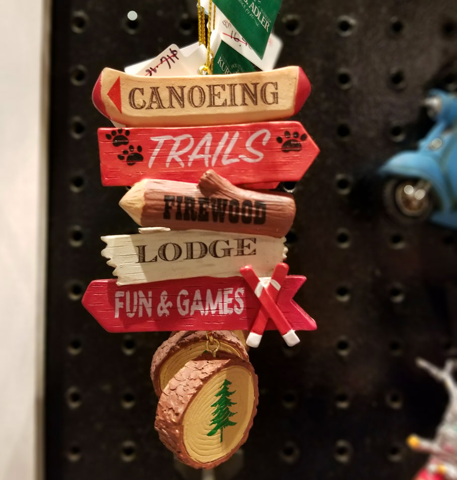 Hiking Ornaments